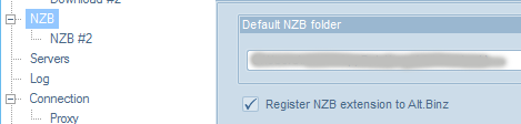 Register NZB Extension