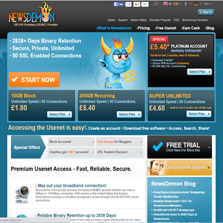 free usenet account without credit card